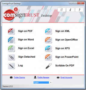Digital Signing Solution Download