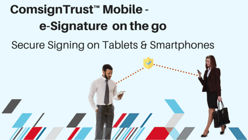 digital signature for mobile