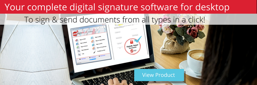 Desktop digital signature solution